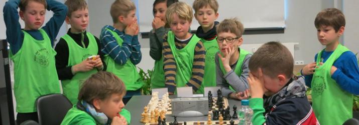 Schulschach-Landesfinale der Grundschulen 2016